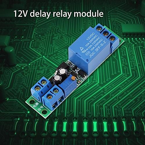YOSOO DC12V Adjustable Signal Trigger Delay Timer Switch Relay Module