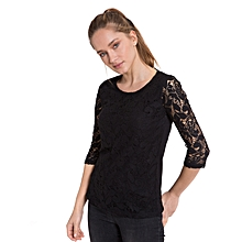 Black Standard Female T-Shirt
