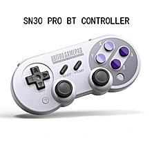LEBAIQI 8Bitdo SN30 Pro Wireless BT Portable Mini Handle Mobile Phone PC Android Game-controller