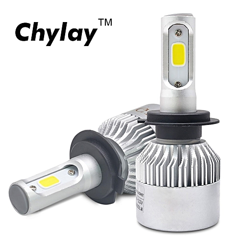 One Pair LED H1 H11 H7 H4 Car Headlight Bulb H3 HB4 H8 HB3 H9 9005 9006 Led  Fog Lights 6500K 72W 8000LM car led automotivo light
