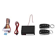 Car Alarm System Remote Control Central Door Lock Wireless Entry Kit