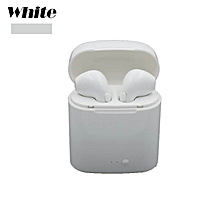2018 New MINGGE I7S Wireless Earphone Bluetooth Headset In-Ear Earbud with Mic for iPhone 8 7 plus 7 6 6s 5s for Samsung