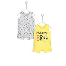 Yellow Fashionable Jumpsuit Set