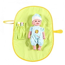 Baby Infant Portable Diaper Changing Pad Cover Mat Travel Table Foldable Nappy Bag Green