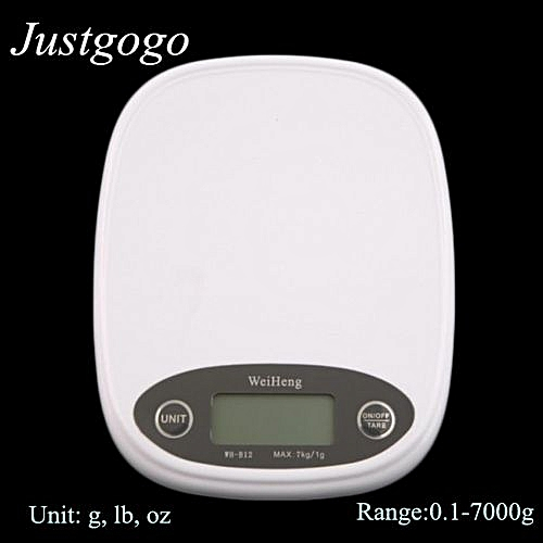 32023f10a8cc 7kg/1g Electronic Kitchen Scale LCD Display Mini Digital Food Weighing  Balance