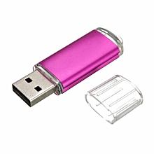16GB USB 2.0 Metal Flash Memory Stick Storage Thumb U Disk -Hot Pink