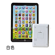 Kids Children English Learning Pad Toy Educational Computer Tablet-White