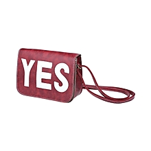 Women's Square Bag - Red