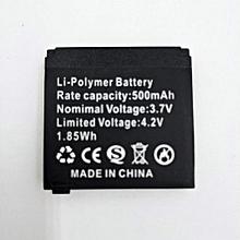 500 MAH Battery for Q18 Smart Watch - Black