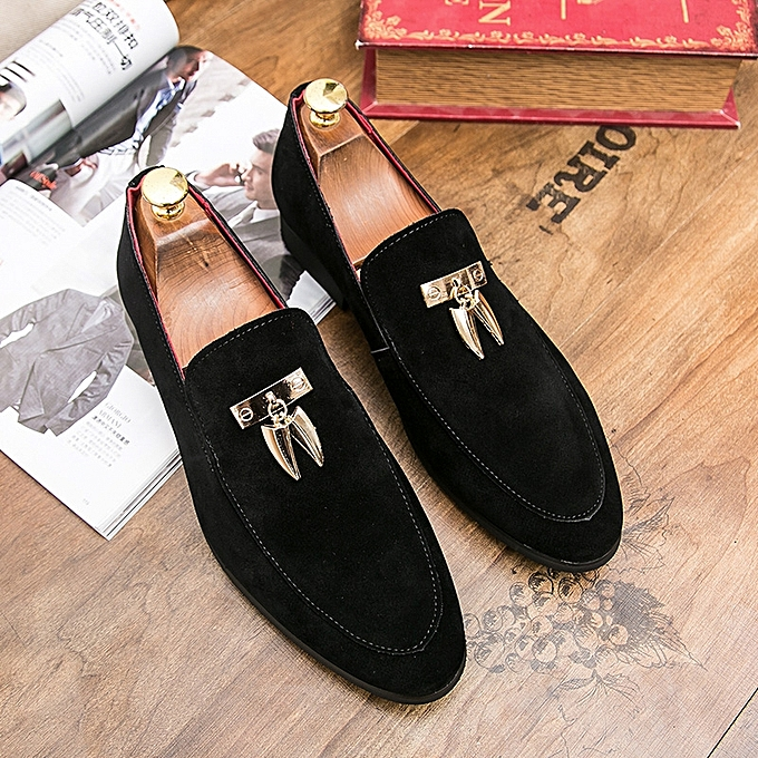 Buy Tauntte Tassel Suede Leather Loafers For Men Casual Shoes