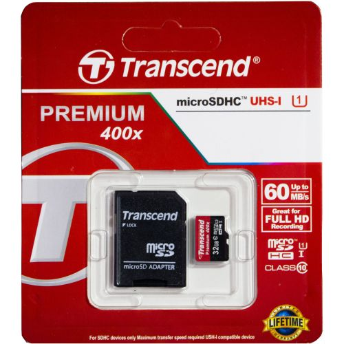 32GB - Memory Card - Black