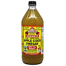Organic Raw, Unfiltered, Gluten-Free Apple Cider Vinegar, 946ml