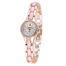 guoaivo SBAO Fashion High - end Watches Round Dial Bracelet Table Women 's Watches - Multicolor B