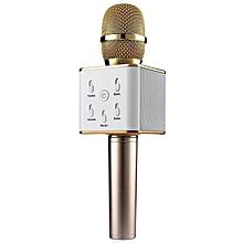 Wireless Bluetooth Speaker & Microphone - Gold
