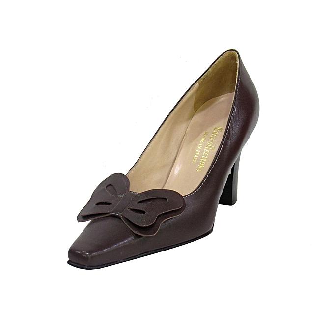 0154cd01ad Melia Coffee Brown Melia Ladies Heels   Best Price
