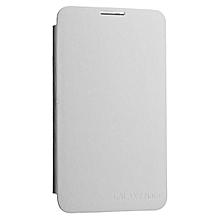 White Samsung Galaxy Note Flip Cover
