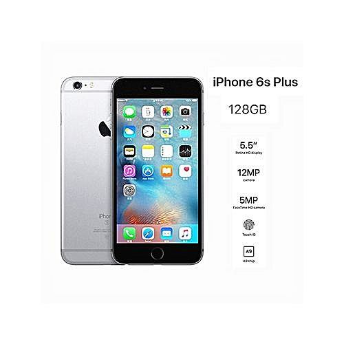 44f8e768cf Apple IPhone 6S Plus 5.5-Inch 2G+128G 12MP Smartphone 4G LTE–Grey. By Apple