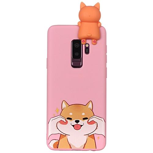 huge discount 8cb8e 8c09c Galaxy S9 Plus Phone Case, Soft Silicone Slim Flexible 3D Cartoon Animal  Super Cute TPU Painted Pattern Case Cover for Samsung Galaxy S9 Plus/Galaxy  ...