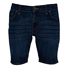 Blue Denim Mens Bermuda Shorts