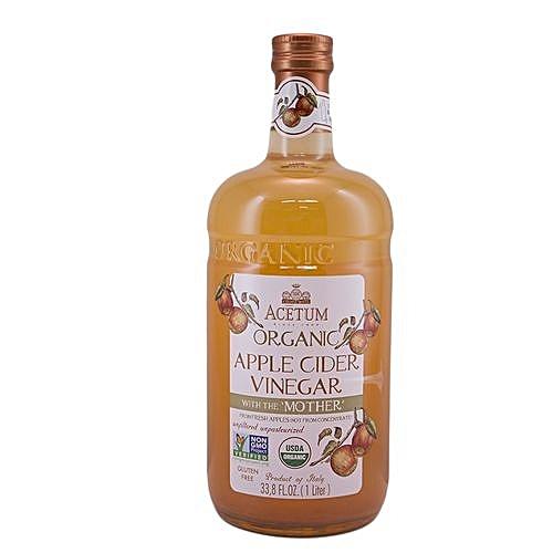 Unfiltered - Unpasteurized 'Mother' Apple Cider Vinegar - 1 Litre