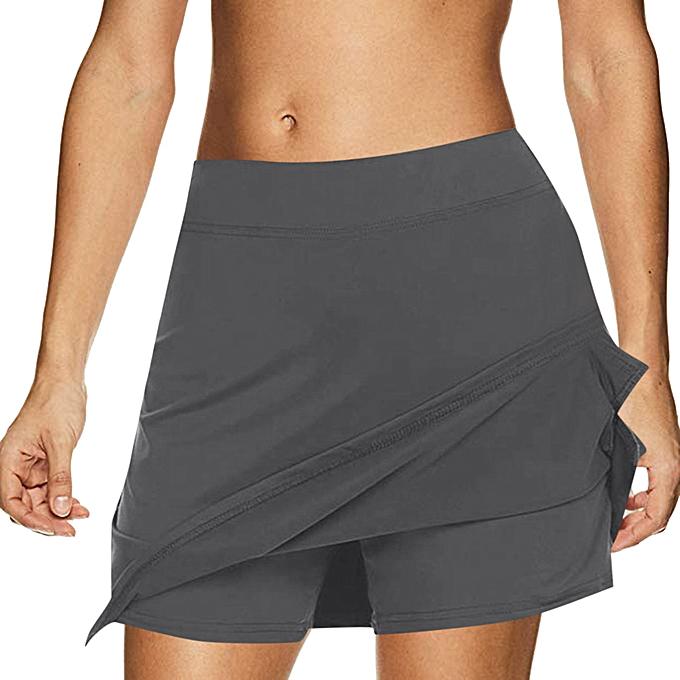 5966c24fa0 jiahsyc store Women's Active Skorts Performance Skirt Running Tennis Golf  Workout Sports