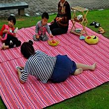 Outdoor waterproof grass picnic mats moisture mats picnic beach sleeping mats crawling mats #150*100