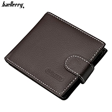 Genuine Leather Wallet Men High Capacity Business Men Wallets