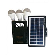 GD-Lite - 8066 Rechargeable Lighting System - Black