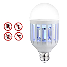 Mosquito Killer Lamp, Electronic Insect Killer, Mosquito Trap, Fly Killer, Perfect For Indoor Home Garden Patio Backyard, 110V 10W E27 LED Light Bulb