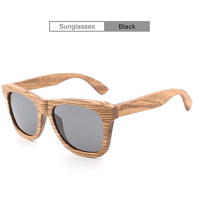 1c65b14b6d Luxury Handmade 100% Zebra Wood Sunglasses Polarized Mirrored Wooden  Sunglasses Pink Coffee Green