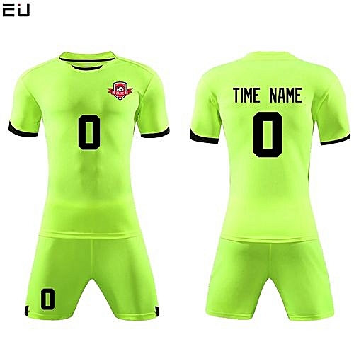 d3181712f Eufy Customized Youth Chuldren And Adult Men s Football Soccer Team Jersey  Set-Green(QD-625)