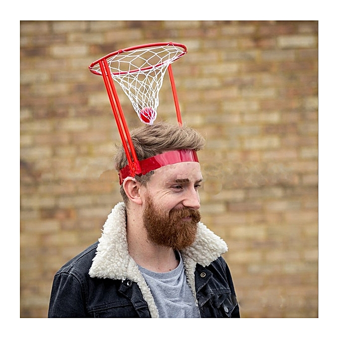 ... Head Basketball Hoop Game Circle Shot Plastic Basket Parent - Child  Interactive Toys Hat ... 9ca1c9a4cc8