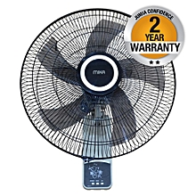 "MFW183R/GB - Wall Fan 18"", With Remote, Light & Dark Grey"