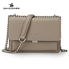 PU Leather Women Shoulder Bags Crossbody Bag With Chain Fashion Messenger Bag