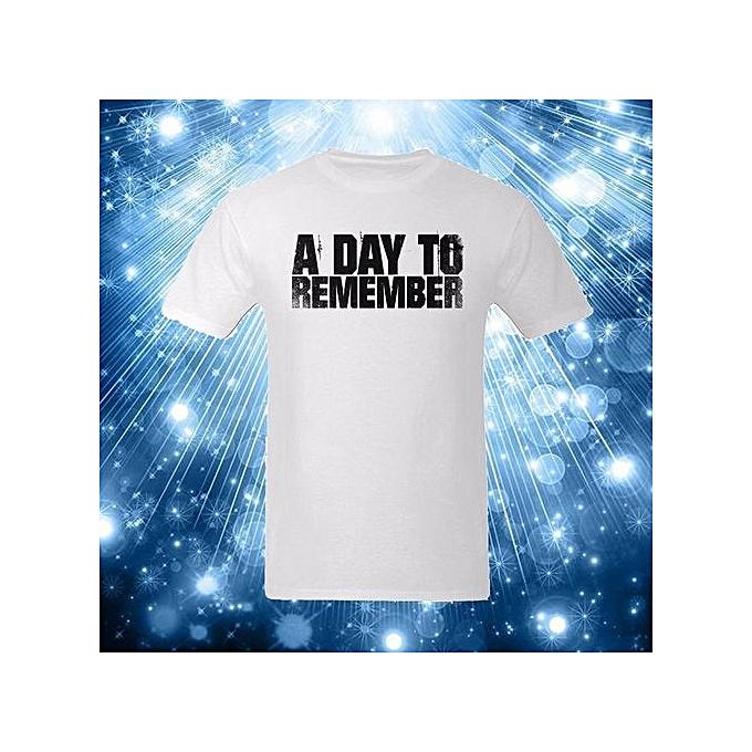 c4b84ac8ac Funny T Shirts Men Summer Shirt Cotton T Shirt Plus Size A Day To Remember  Men