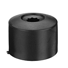 1 pcs Black Car Wheel Nut Bolt Covers Caps 17mm For VW Passat Golf Polo Tiguan Jetta