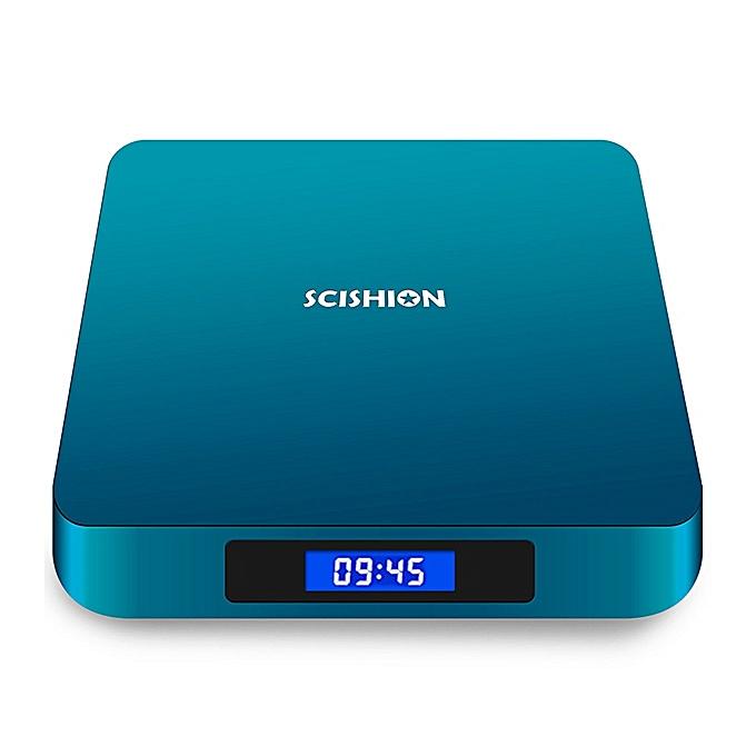 AI ONE Android 8 1 TV Box Rockchip 3328 2GB RAM + 16GB ROM 2 4G WiFi USB3 0  BT4 0 Voice Control