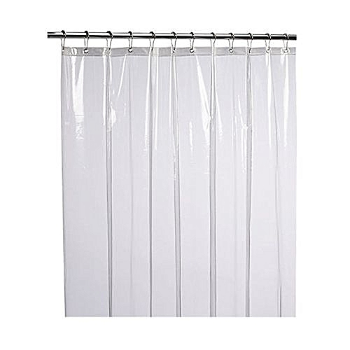 Houseworkhu Mildew Resistant Anti Bacterial Shower Curtain Liner Eco Friendly Decoration Clear