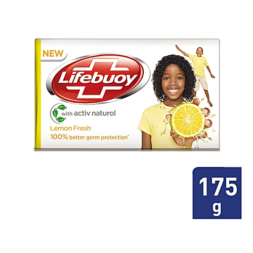 Lemon Fresh Bar Soap -175g.