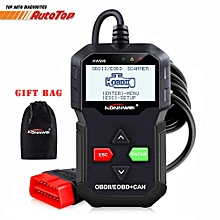 OBD II Code Reader KW590 OBD2 Car Diagnostic Scanner with Multi-languages Full OBD EOBD Functions HonTai