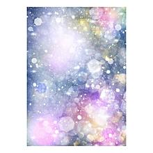 Andoer 1.5 * 2.1m/5 * 7ft Photography Background Purple Glitter Light Bokeh Spot Backdrop Digital Printed Photo Studio Props