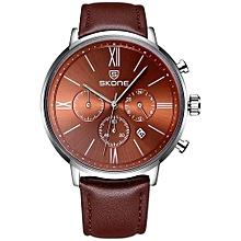Men Watch Personalized Creative Dial Quartz Movement Waterproof Fashion Casual Male Watches Wristwatch Fashion Casual