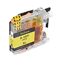 LC-103XL Compatible Ink Cartridge Replacement Ink Tank Yellow for Brother MFC-J4310DW MFC-J285DW J4410DW J4510DW J4610DW J4710DW J6520DW J470DW J475DW J650DW J870DW J875DW J6920DW DCP-J152W Printer