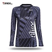Unisex 1.5MM Anti-UV Shirt Pullover Wet Suit Elastic Swimwear Jacket Clothing For Diving Surf Windsurf - Black