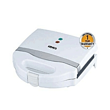 Armco Sandwich Maker 750W AST-T1000 with Seals edges - White