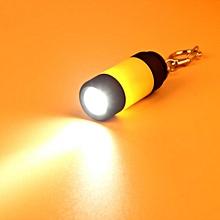 Mini-Torch 0.3W 25Lum USB Rechargeable LED Torch Lamp Flashlight Keychain YE