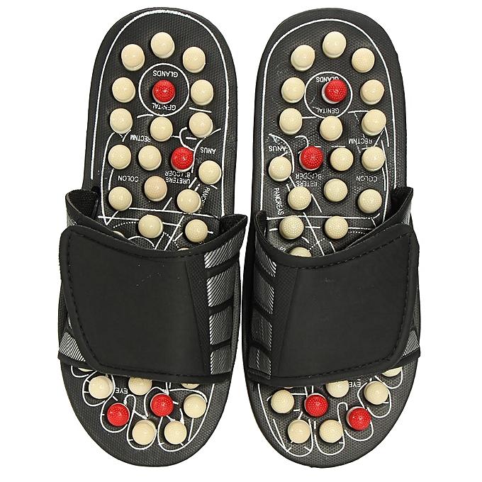 0b0299fe5394 ... Reflexology Sandals Foot Massager Slipper Acupressure Foot Acupuncture  Shoes  38-39-EU ...