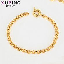 XUPING 24K fashion Bracelets-Gold