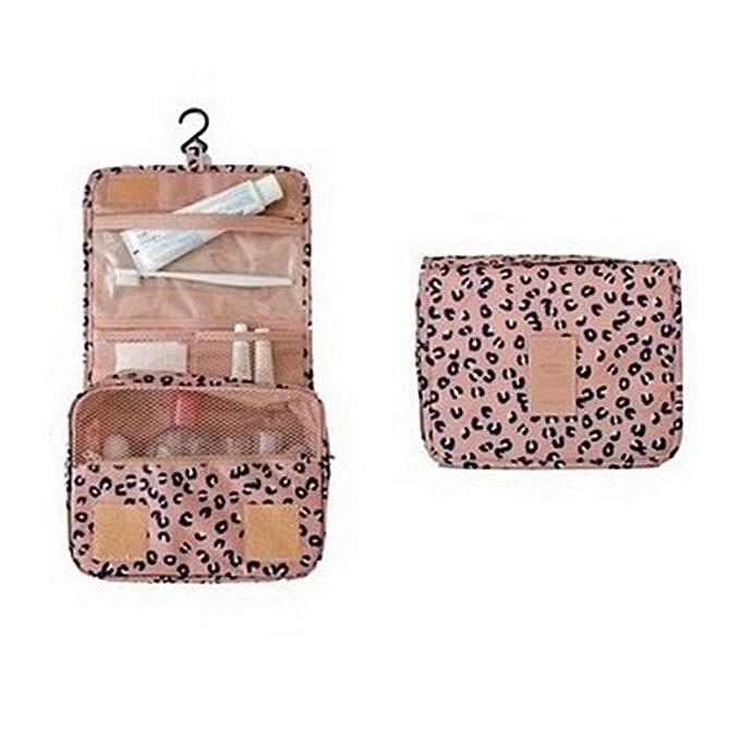 30ecfa0316ba85 Hook Makeup Bag Travel Cosmetic Bag Organizer Case Women Men Waterproof  Necessaries Large Make Up Cosmetics