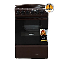 GC-F5531PX(BR) - 3 Gas and 1 Electric Oven + Grill - 50 x 50 - Brown